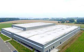Lager- und Produktionshalle mit Büro in Oederan