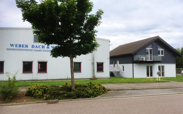 Firmengebäude von Weber Dach & Wand GmbH
